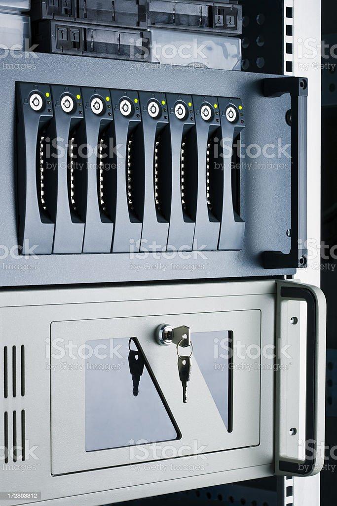 Data Storage royalty-free stock photo