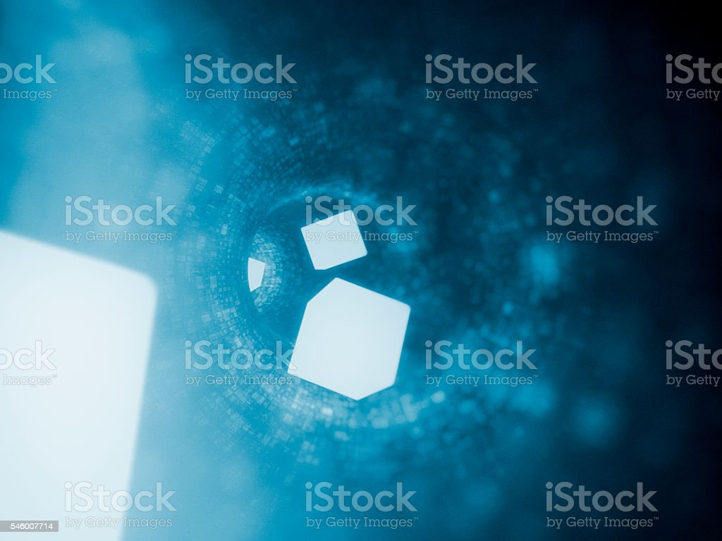 Data stream, concept stock photo