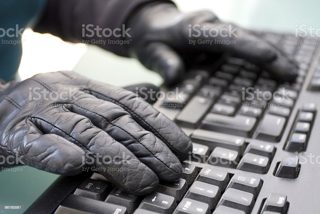 data theft royalty-free stock photo