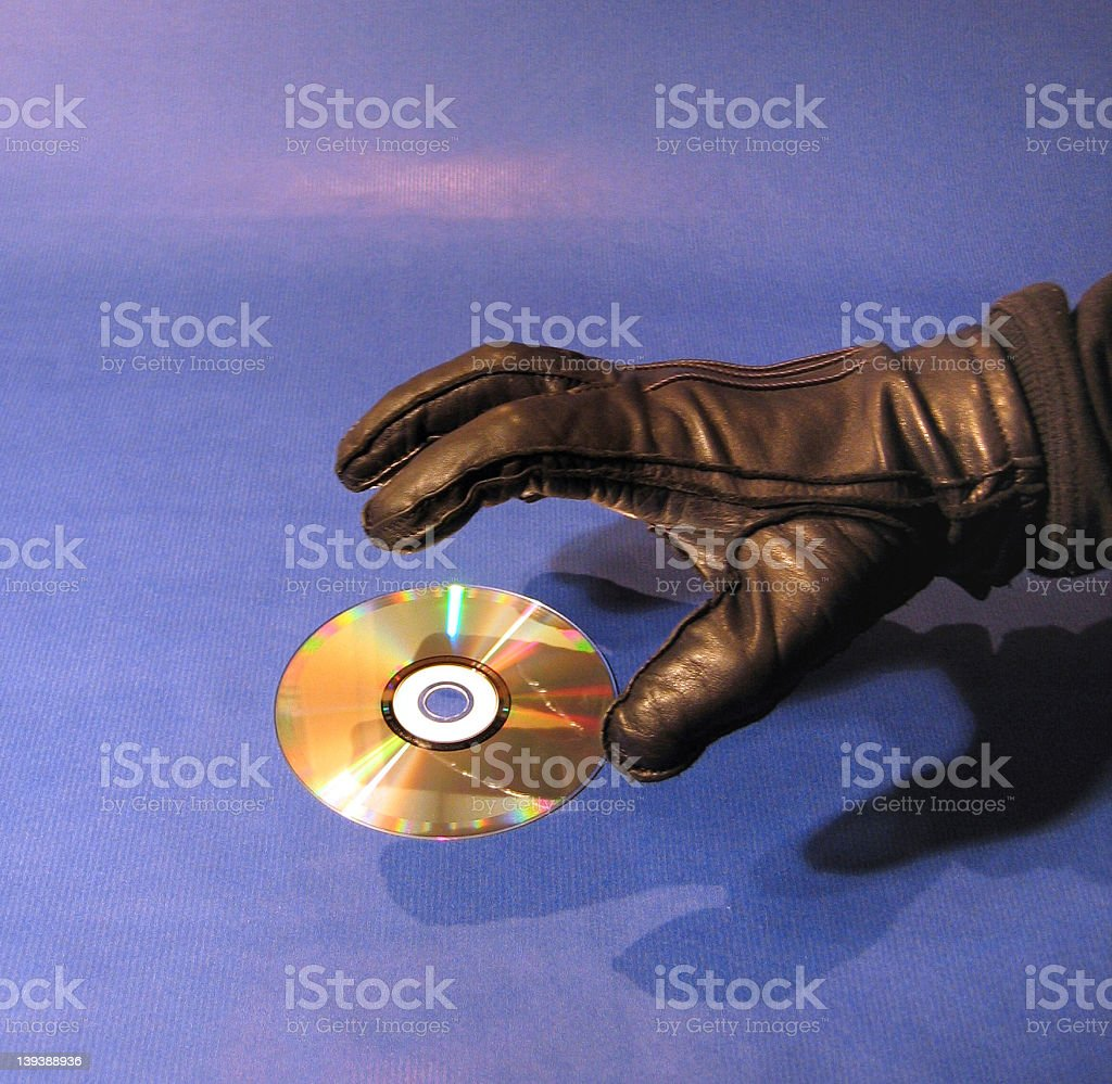 Data Thief royalty-free stock photo