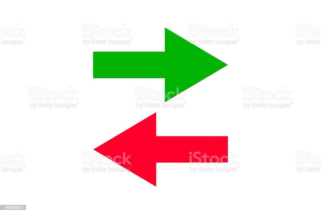 Data Transfer Icon stock photo