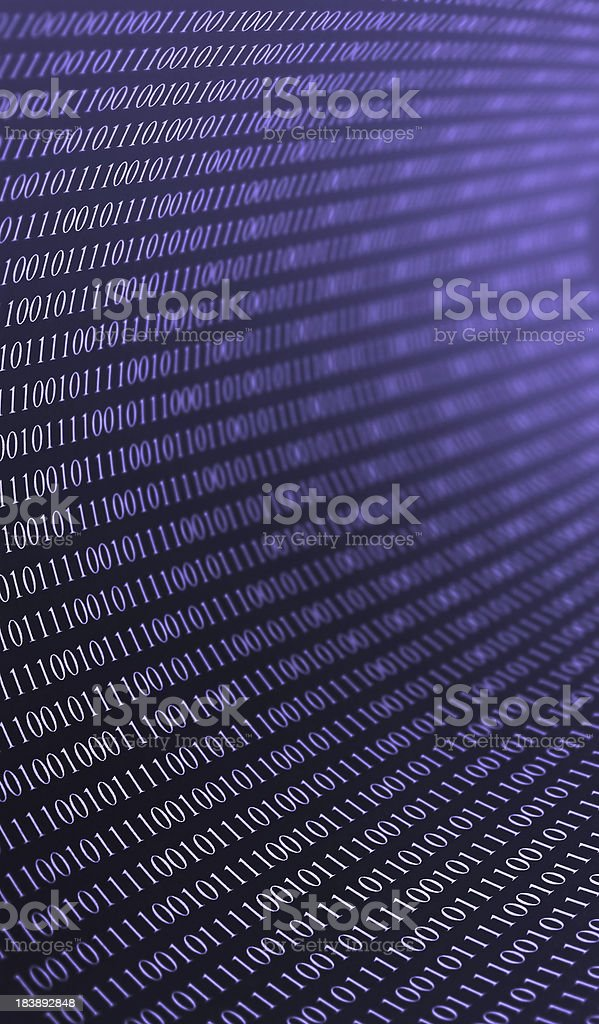 Data Tunnel royalty-free stock photo