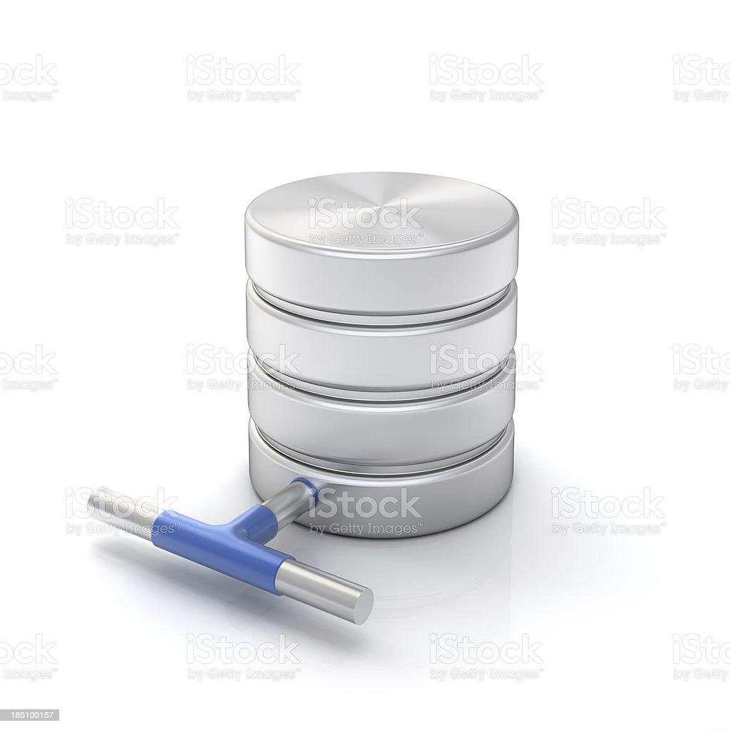 database connection stock photo