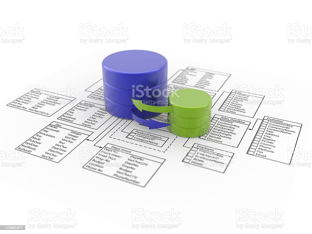 database royalty-free stock photo