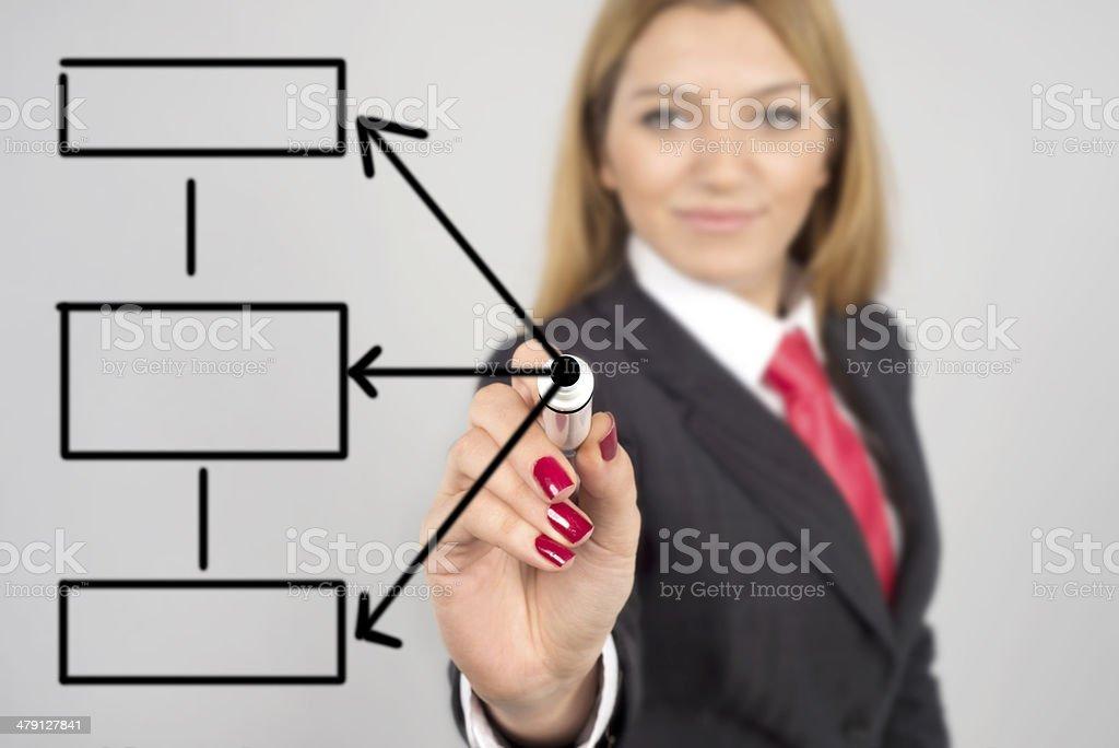 database structure stock photo