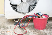 datail of Air Conditioning Tinstallation equipment
