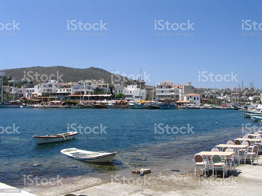 Datca Knidos royalty-free stock photo