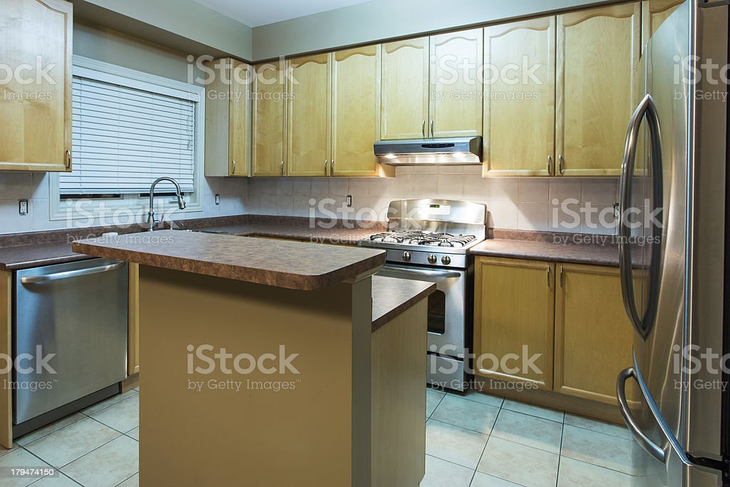 Dated kitchen royalty-free stock photo