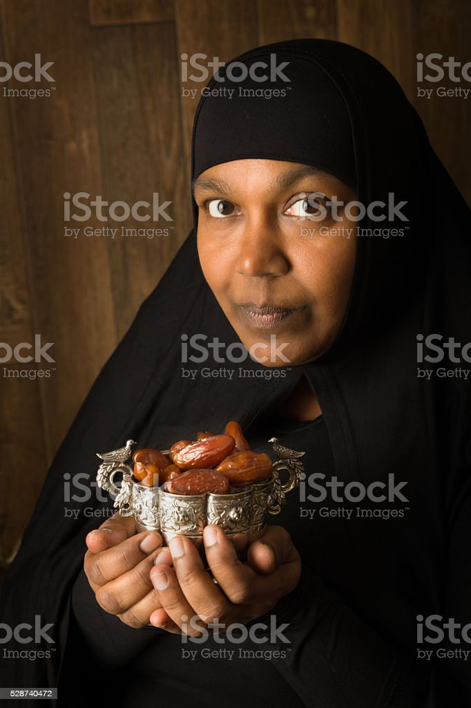 Dates during ramadan stock photo