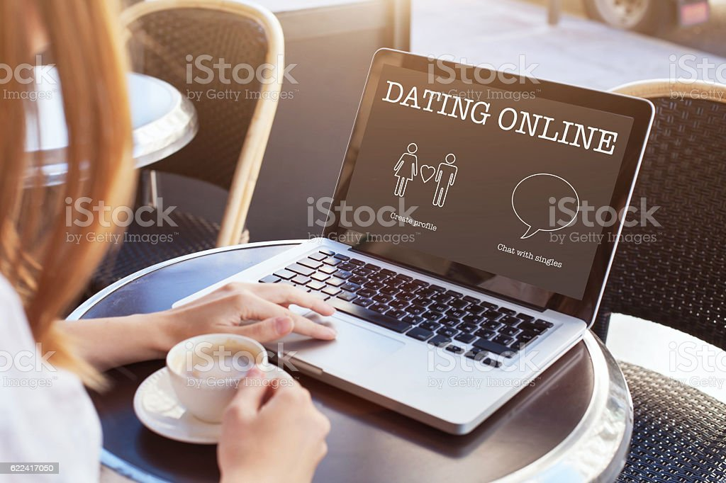 dating online stock photo