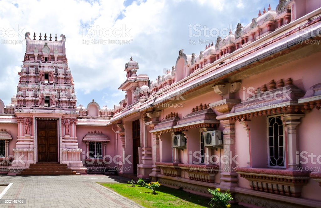 Dattatreya Temple stock photo