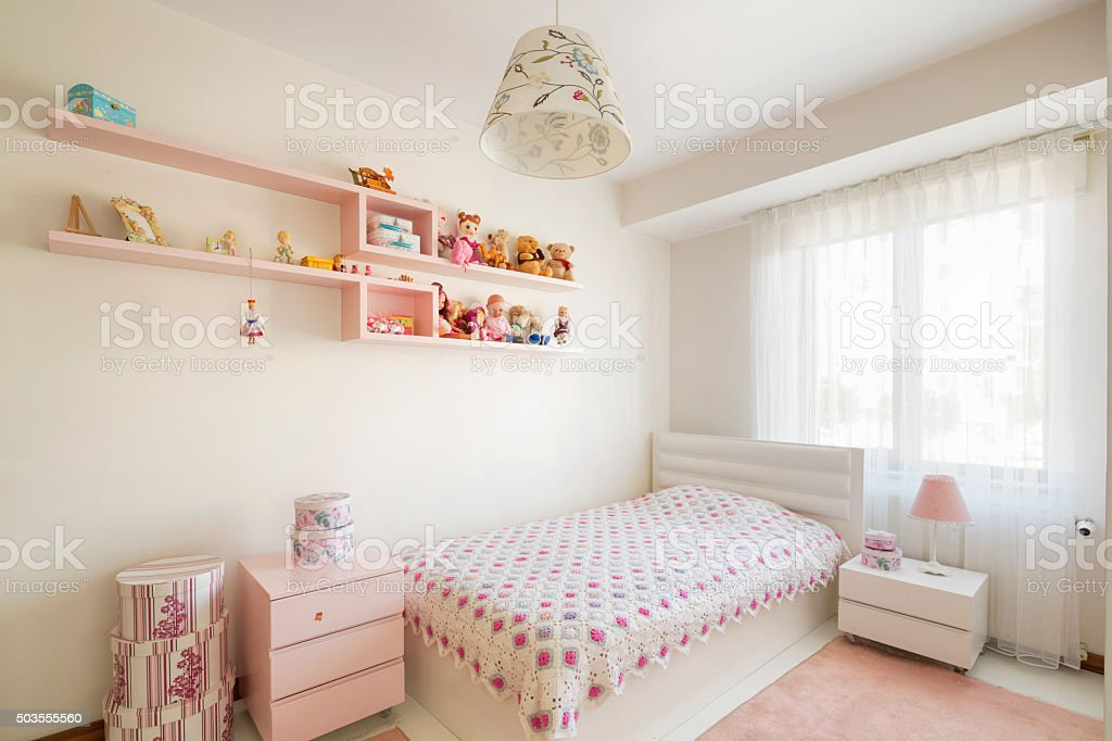 Daughter's Room stock photo
