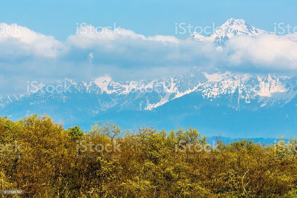 Dauphine Alps stock photo