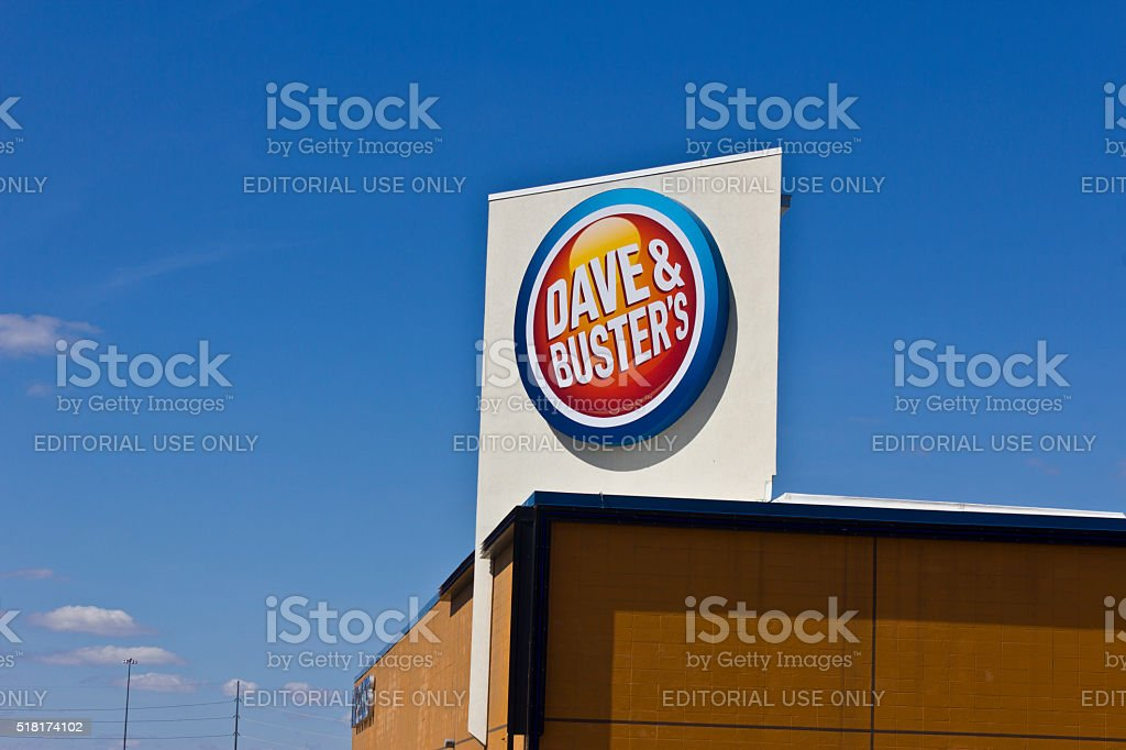 Indianapolis - March 2016: Dave & Buster's Restaurant II stock photo