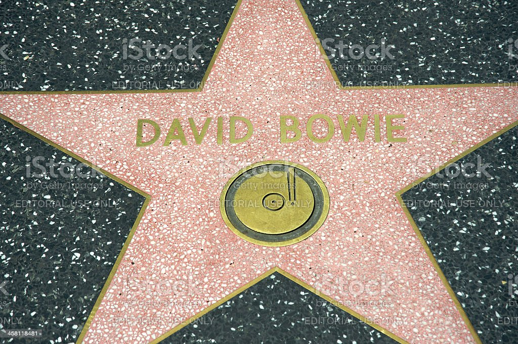 David Bowie royalty-free stock photo