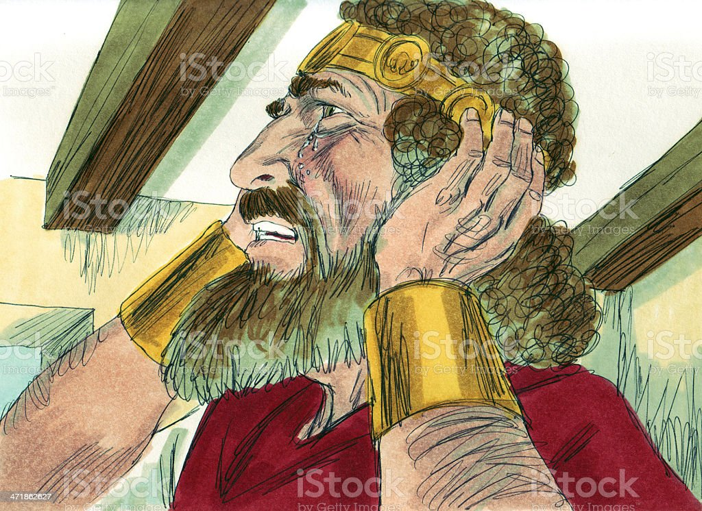 David Grieves Absalom royalty-free stock photo
