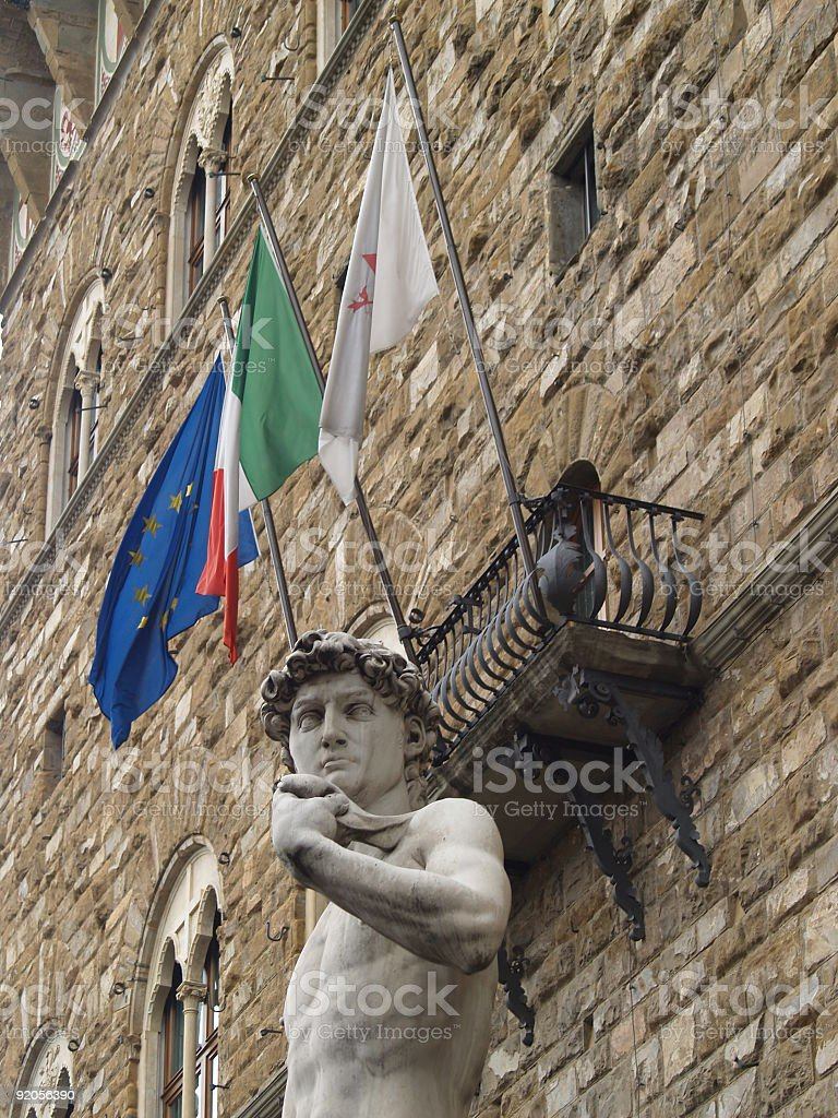 David in Florence royalty-free stock photo