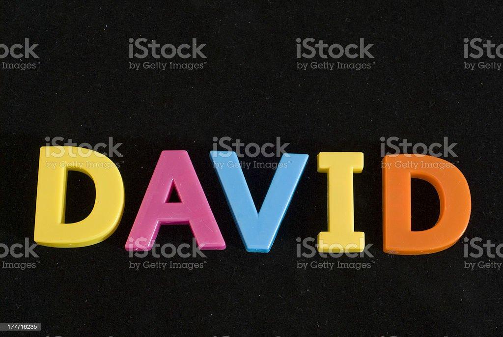 David royalty-free stock photo