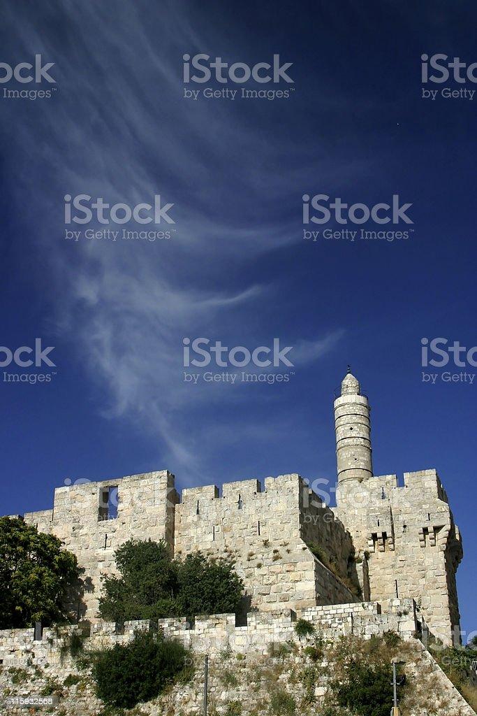 David Tower Jerusalem stock photo