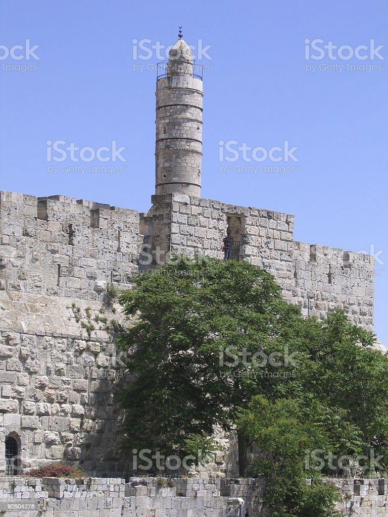 David Tower Jerusalem royalty-free stock photo