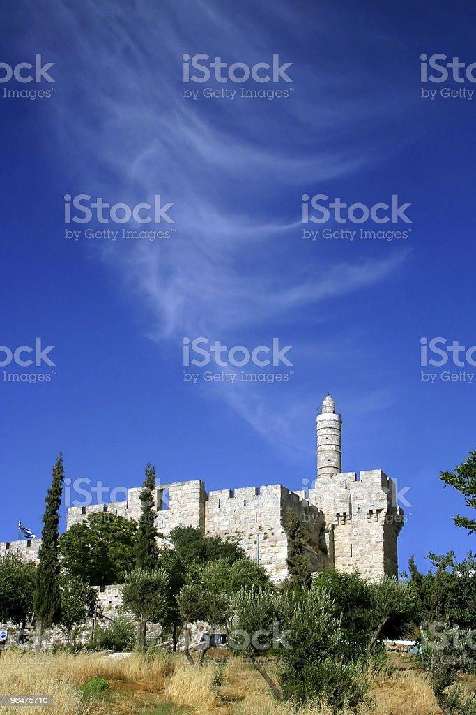 David tower, Jerusalem stock photo