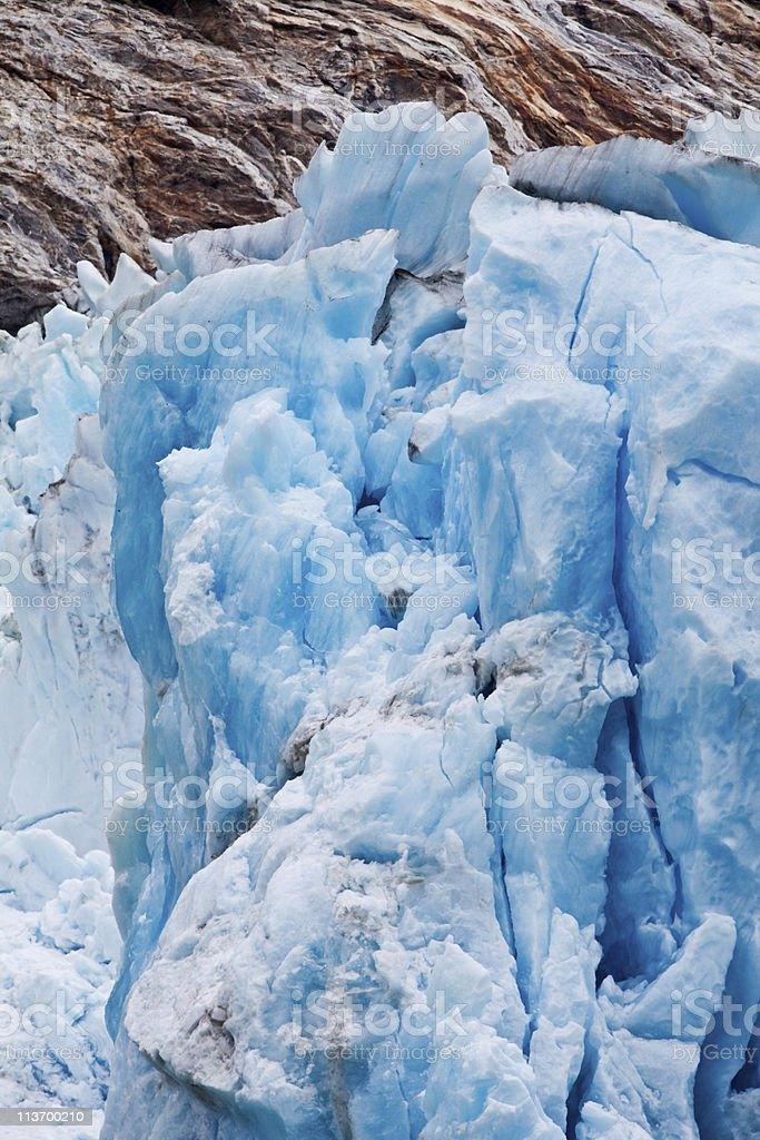 Dawers Glacier stock photo