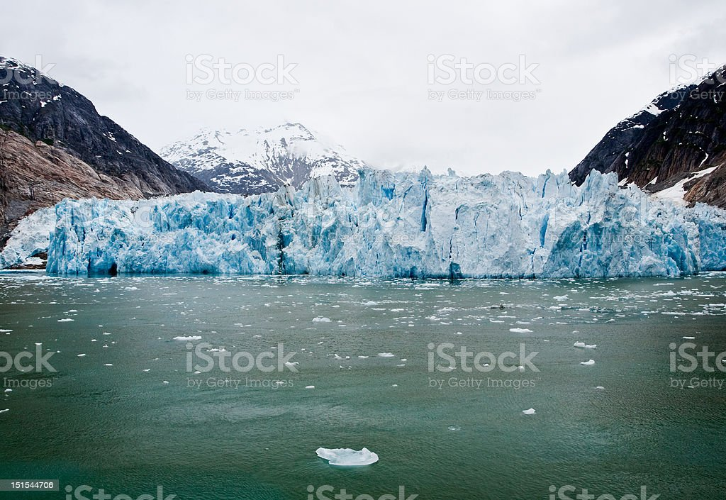 Dawes Glacier stock photo