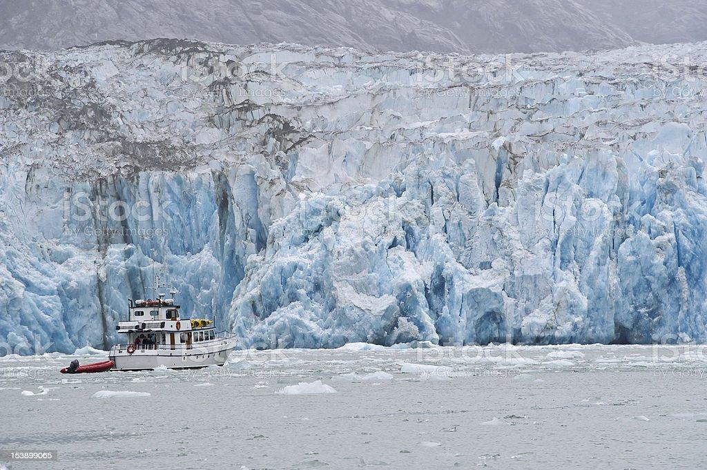 Dawes Glacier royalty-free stock photo