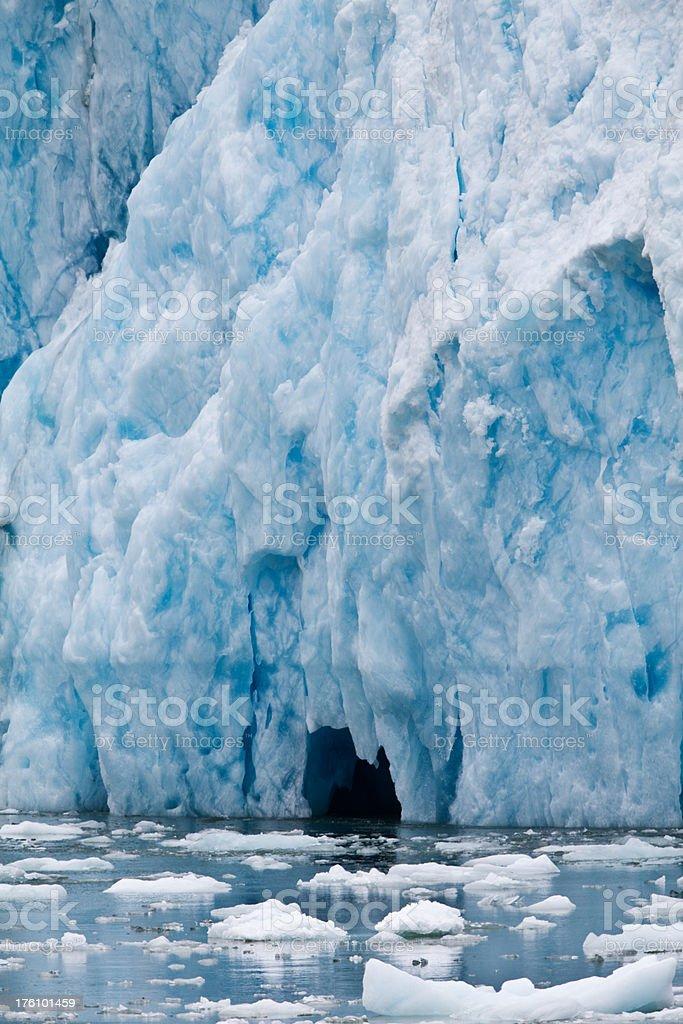 Dawes Glacier stock photo