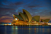 Dawn Approaches The Sydney Opera House