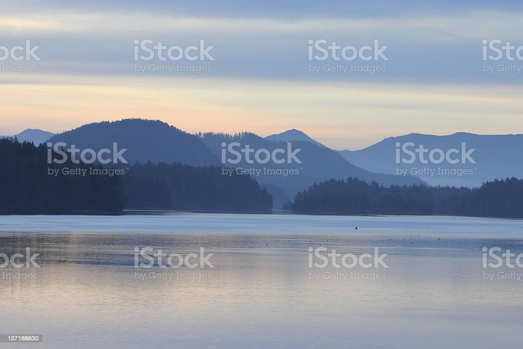 Dawn at Tofino royalty-free stock photo