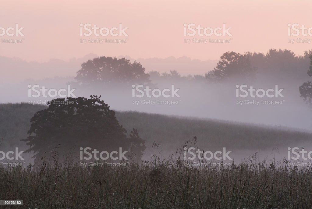 Dawn at Valley Forge National Park#1 stock photo