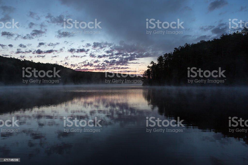 Dawn im Algonquin Park Lizenzfreies stock-foto