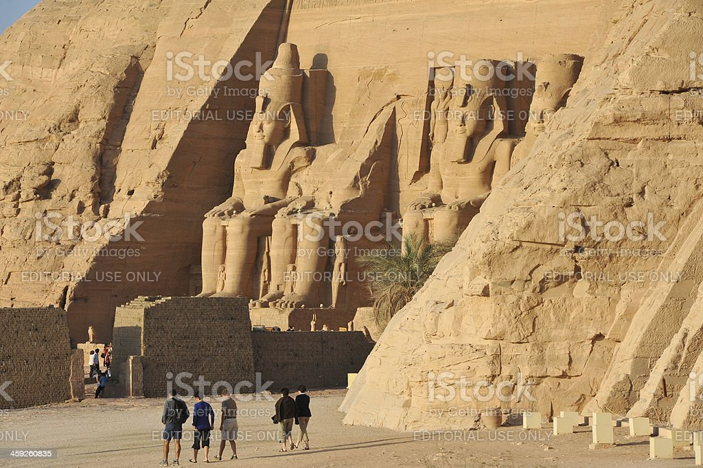 Dawn in Egypt stock photo