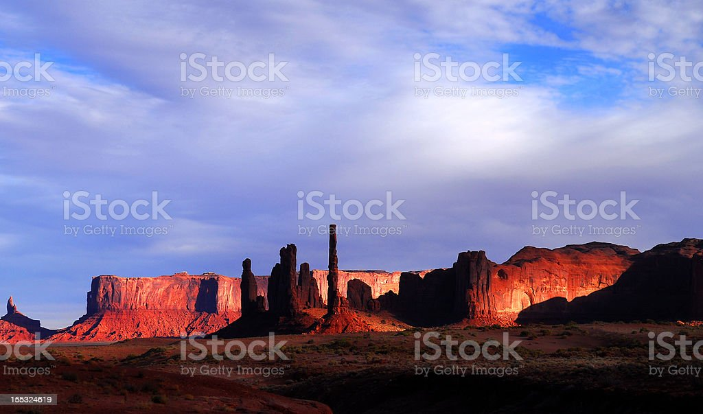 Dawn in Mystery Valley royalty-free stock photo