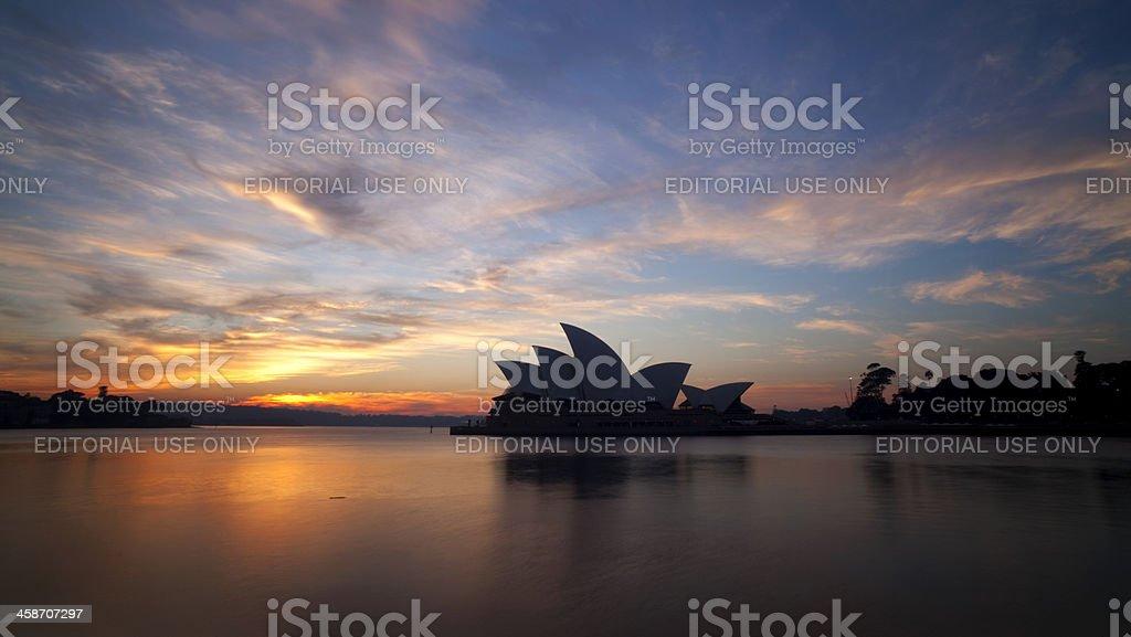 Dawn In Sydney royalty-free stock photo