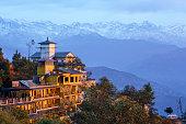 Dawn in the Himalaya
