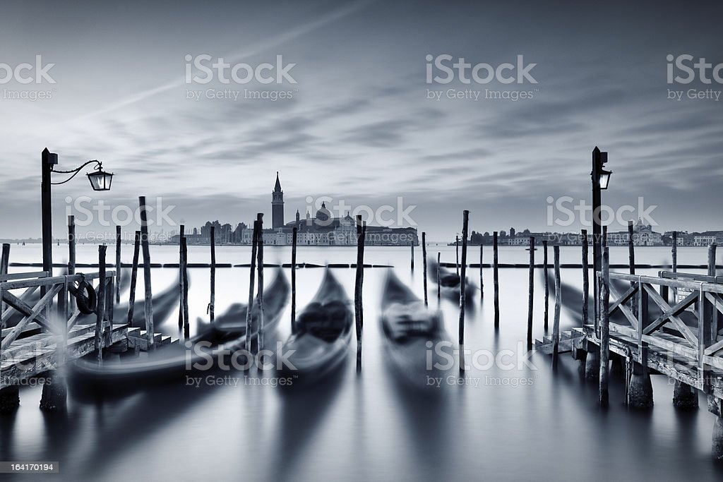 Dawn in Venice royalty-free stock photo