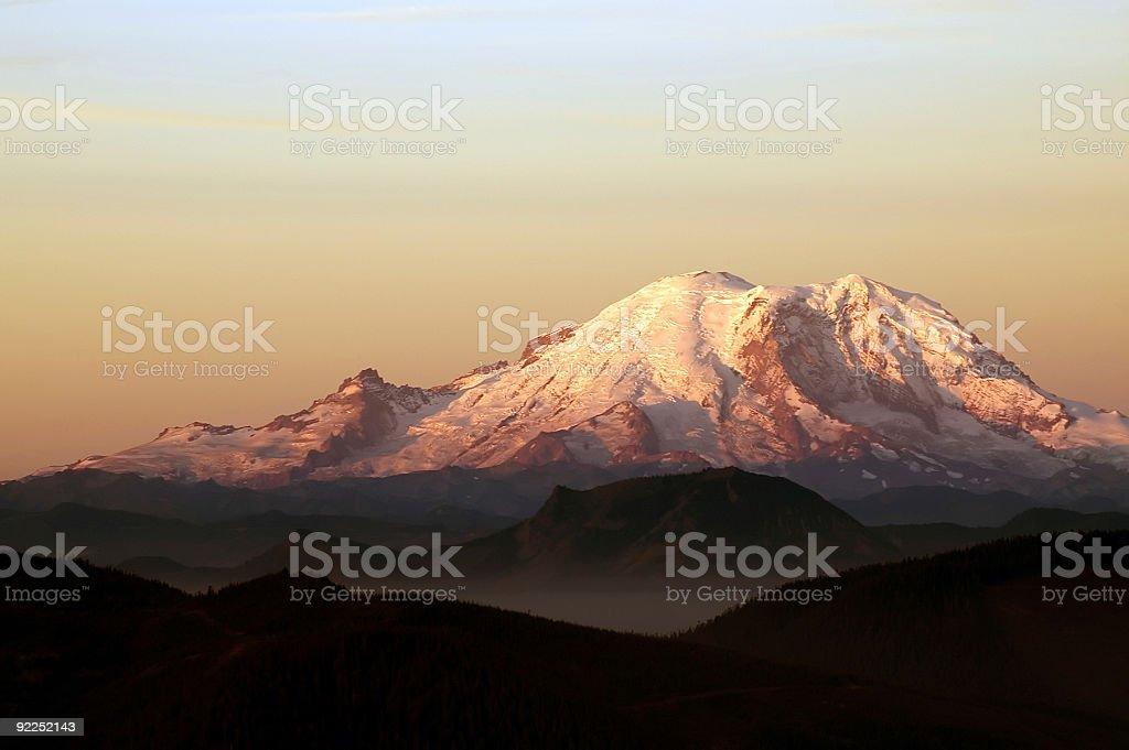 Dawn - Morning on the mountain royalty-free stock photo
