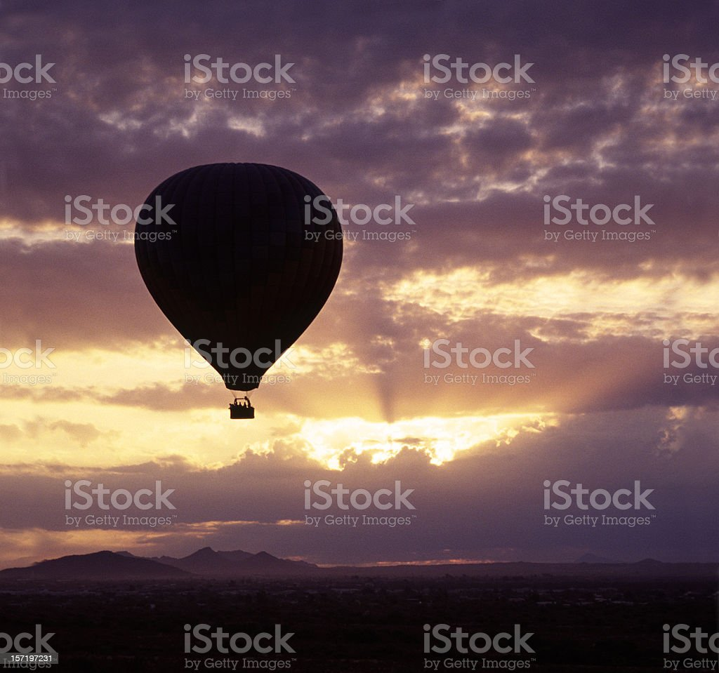 Dawn ride royalty-free stock photo