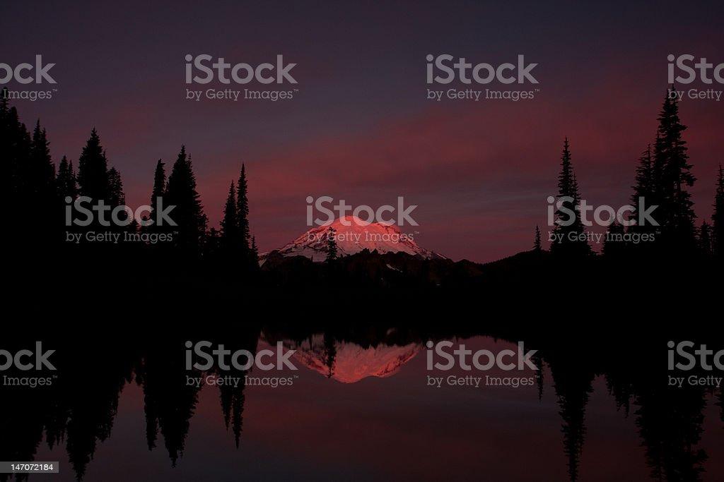 dawns first light stock photo