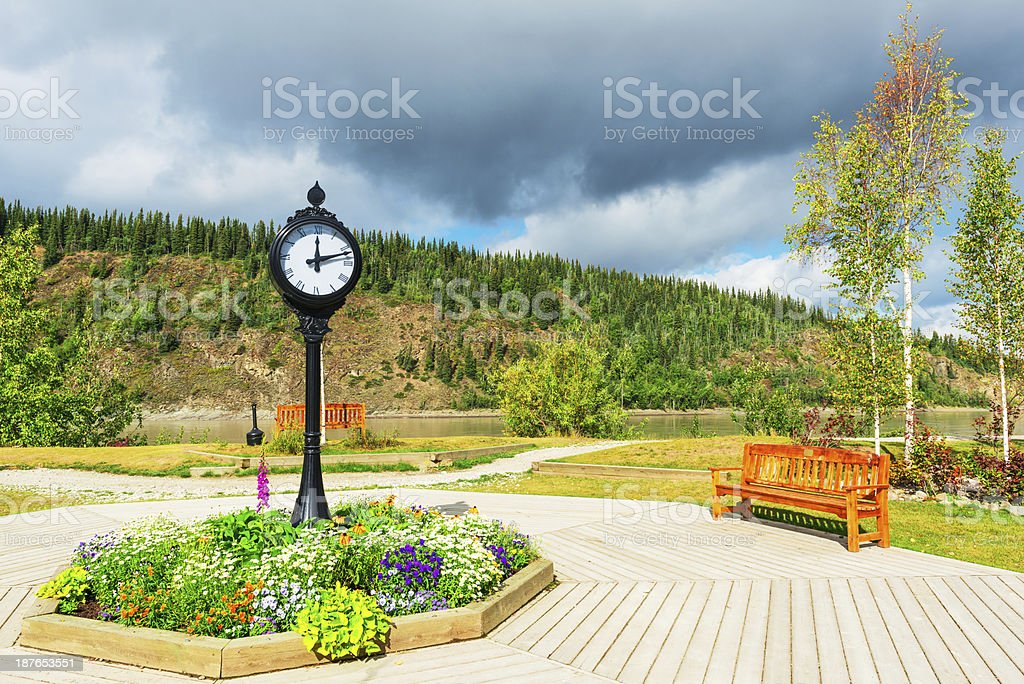 Dawson City royalty-free stock photo