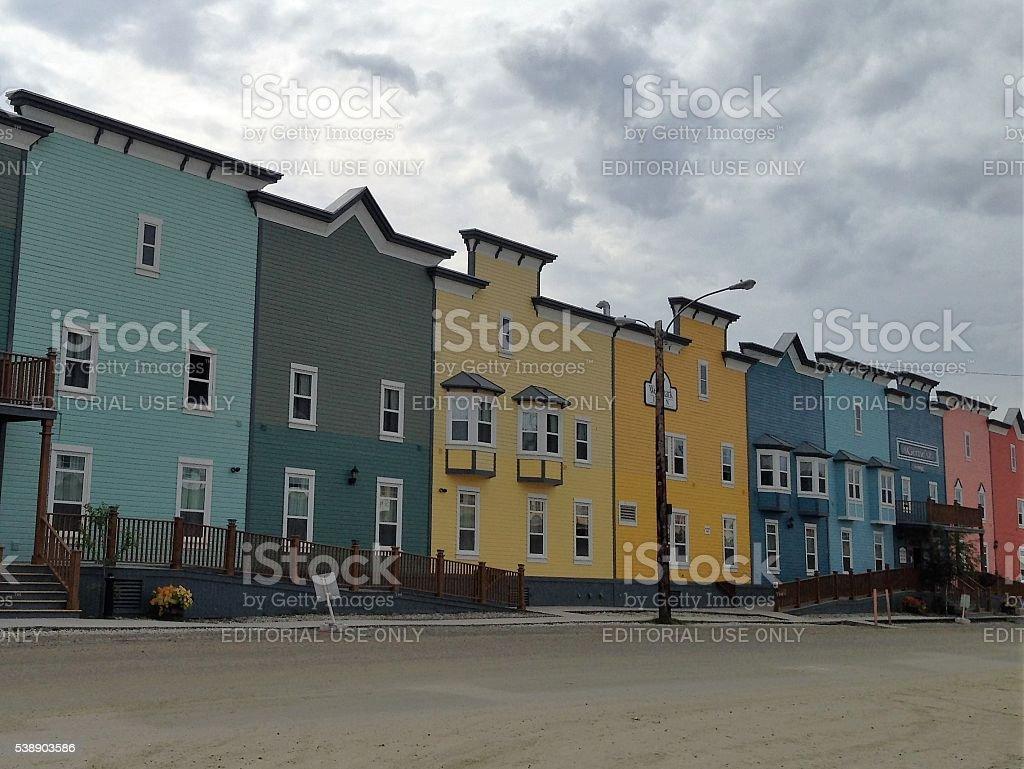 Dawson City stock photo