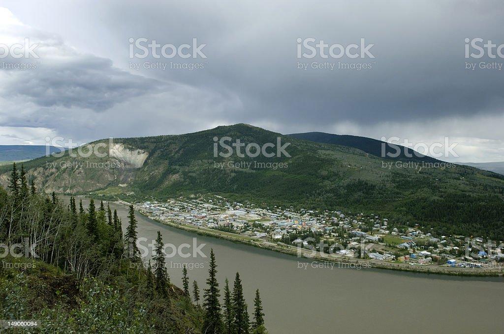 Dawson city, Yukon territories royalty-free stock photo