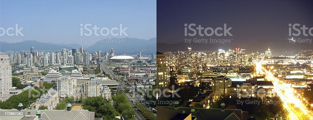 Day and Night stock photo