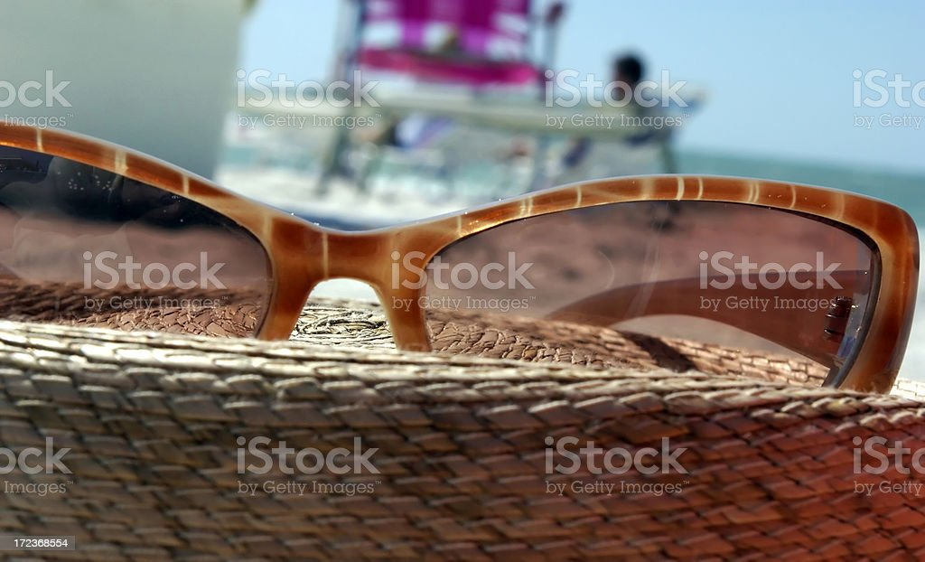 Day at the beach. royalty-free stock photo