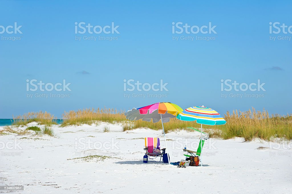 Day at the Beach stock photo