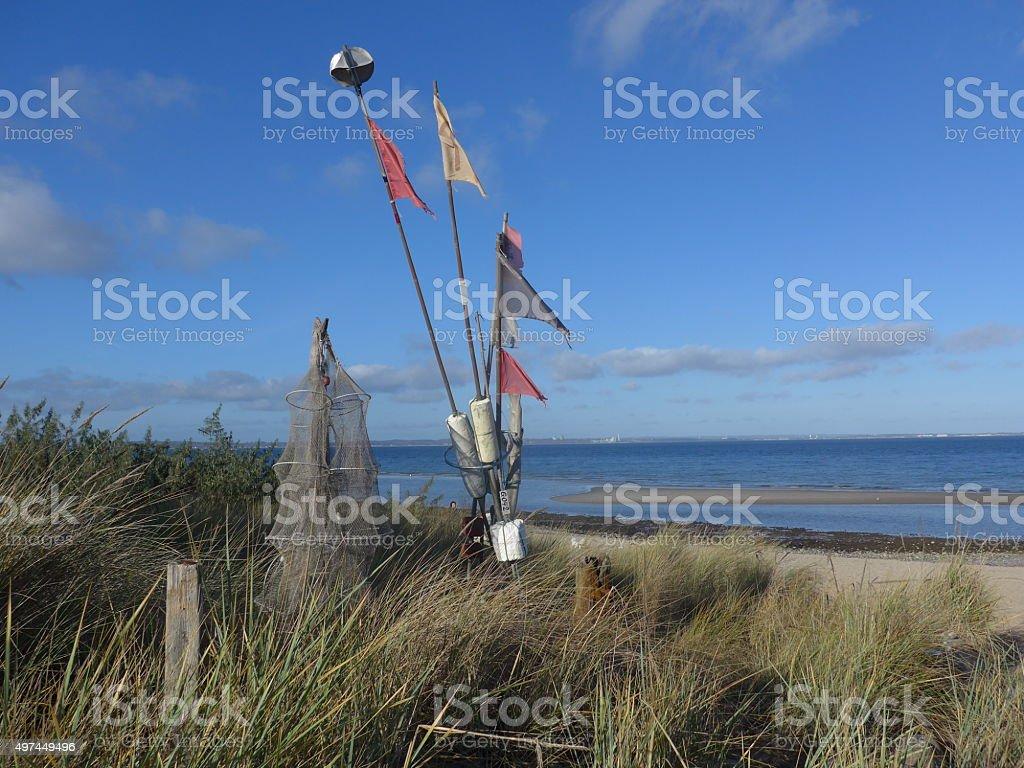 Día en el Mar Báltico-Bild foto de stock libre de derechos
