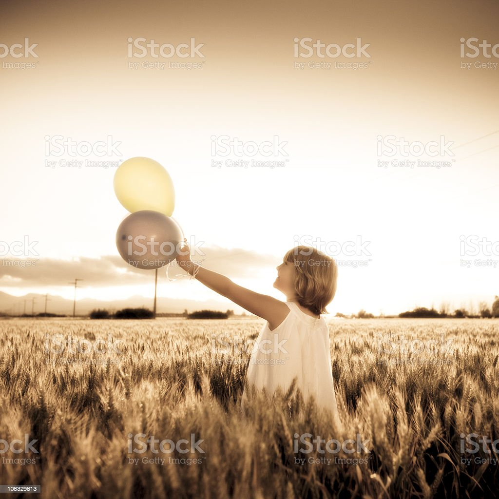 Day dreamer royalty-free stock photo