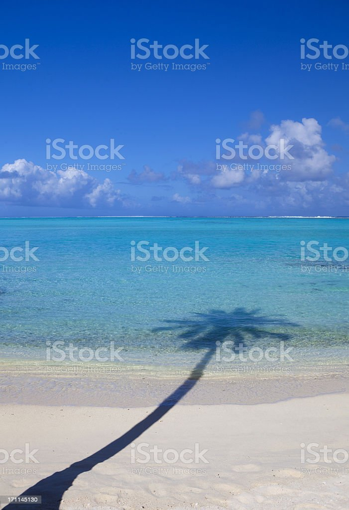 Day In Paradise royalty-free stock photo